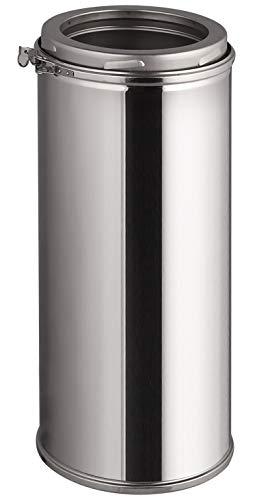 Edelstahl Schornsteinverlängerung - Doppelwandiges Schornsteinrohr in allen Längen und Durchmessern (Ø 150mm, 500mm)