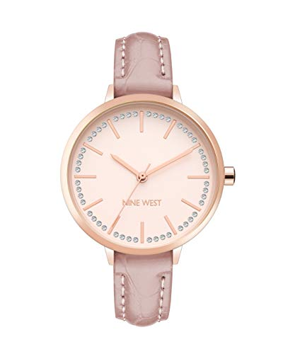 Nine West Dress Watch (Model: NW/2554RGTP)