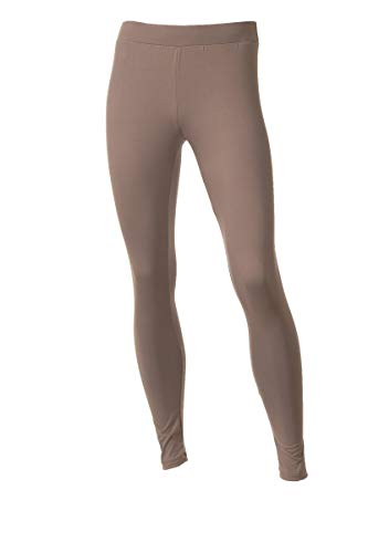 Neovic Herren Athleisure Leggings, besonders weich, Strick, Yogahose, Baselayer, legere Leggings, S-3XL - Braun - X-Groß