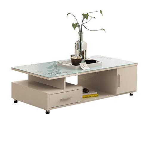 Xu-table glazen rechthoekige tafel, meubels outdoor tweezijdige draaitafel, TV-sofa dessert, leestafel, milieuvriendelijk