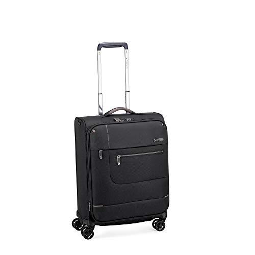 Roncato Maleta Pequeña XS Blanda Sidetrack - Cabina cm 55x40x20/25 Capacidad 44/50 L, Extensible, Ligero, Organización Interna, Cierre TSA, Aprobado para: Ryanair Easyjet Lufthansa, Garantìa 2 años