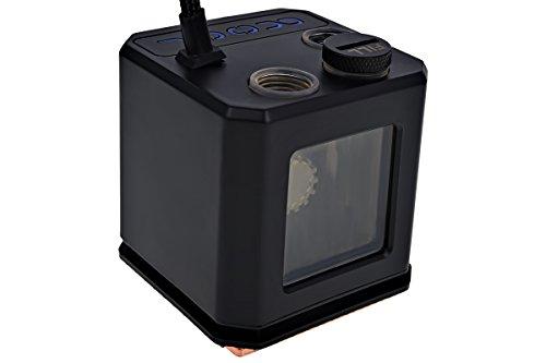 Alphacool Eisbaer (Solo) Schwarz - Hardwarekühlungszubehör (63 mm, 63 mm, 68 mm, 542 g)