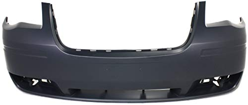 Front Bumper Cover Compatible with 2008-2010 Chrysler Town & Country Primed
