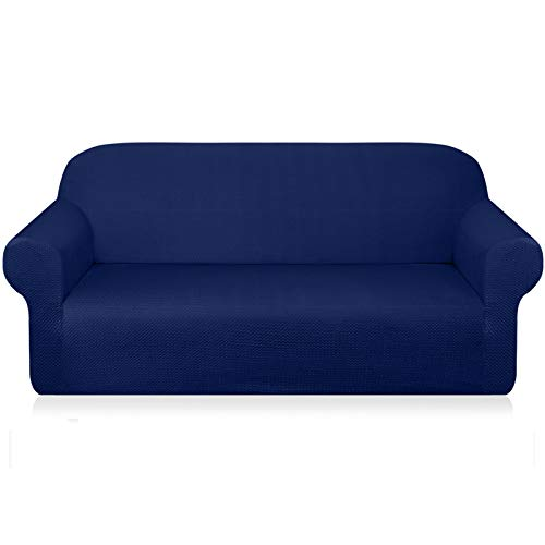 Granbest- Fundas de sofá gruesas para sofá de 3 cojines, diseño elegante, para sofá, jacquard, para sala, protector de mueble ante perro, mascota, antideslizante, lavable