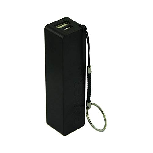 LtrottedJ Portable Power Bank 18650 External Backup Battery Charger with Key Chain