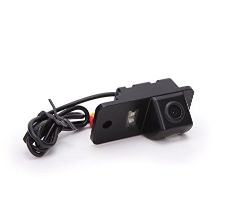 Dasaita Telecamera Posteriore Auto Retromarcia CCD Impermeabile Angolo Visuale Retrocamera Posteriore Fotocamera per AUDI A3 A4 A5 A6 A6L A8 Q7 S4 RS4 S5 TT Visione Notturna