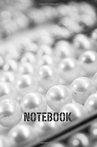 pearl notebookNotebook: blank lined composition journal | pearl notebook notebook | 100 pages