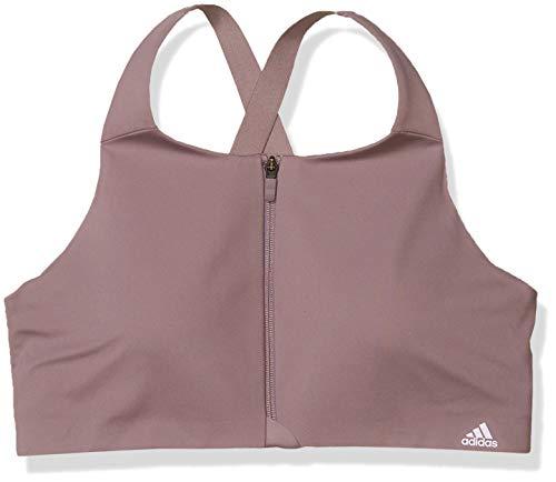 adidas womens Ultimate AEROREADY Designed 4 Training Fitness Gym Training Pilates Yoga Compression High Support Workout Bra Legacy Purple 38C