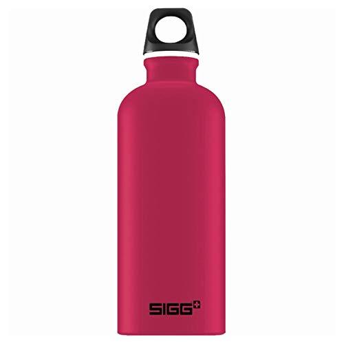 Sigg Unisex– Erwachsene Deep Magenta Touch Wasserflaschen, Pink, 0.6