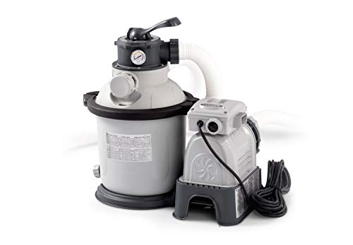 Intex Krystal Clear Sand Filter Pump - Poolreinigung - Sandfilteranlage - 4,5 m³ - 220-240V (W/RCD)