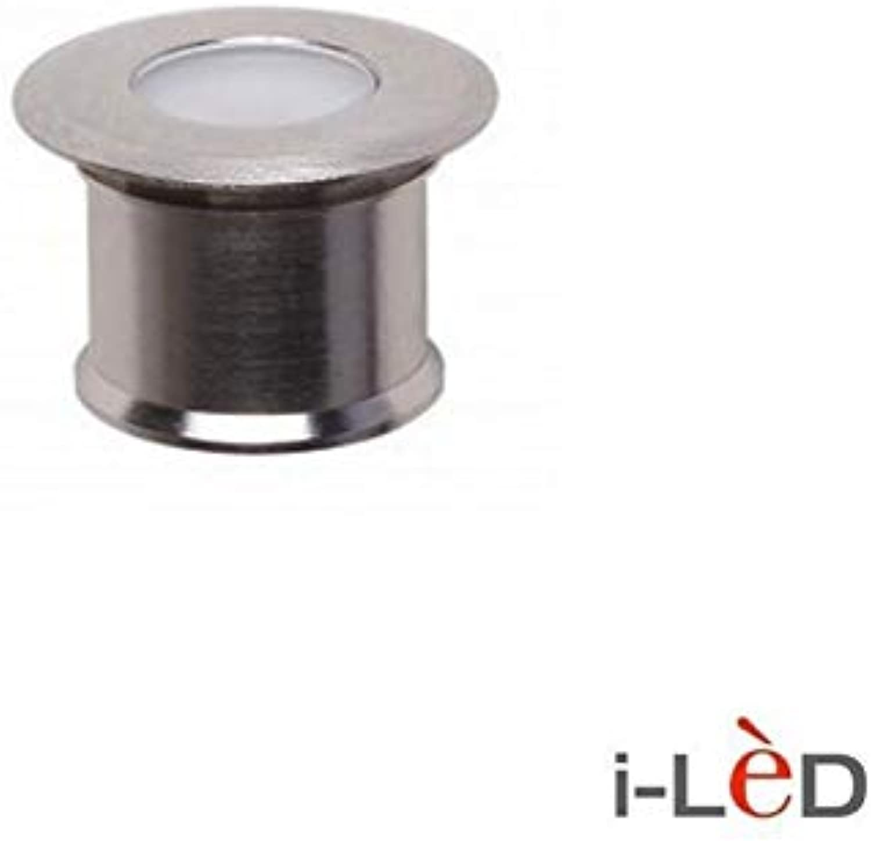 92068W30 Light Beret 3 rund 1 LED 1 W Edelstahl