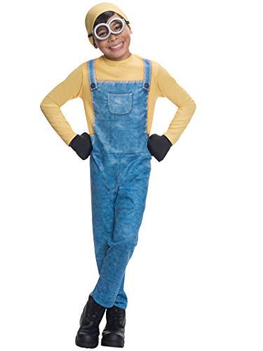"""Rubie's Offizielles Minion-Kostüm für Kinder, Universal Studios """"Ich – Einfach unverbesserlich"""", Minion Bob, Kinder-Verkleidung–Größe: S"""