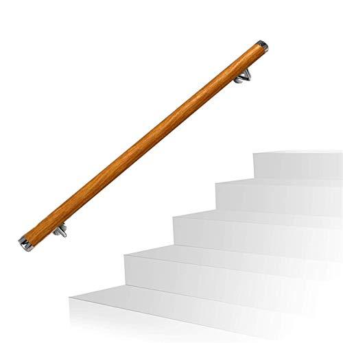 Treppengeländer, Massivholzgestell aus Edelstahl Starke Tragfähigkeits geeignet for Indoor-Loft Villa Kindergarten Ältere Kinder (Size : 100x5cm)