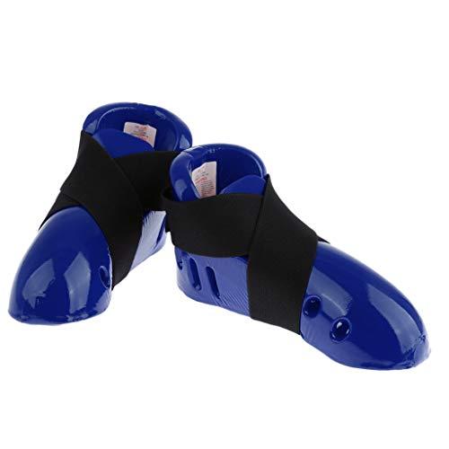 T TOOYFUL Kids Kick Sparring Schuhe/Footgear Foot Guard Für Jungen Mädchen Karate Taekwondo - Rot m