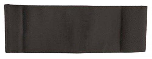 Unbekannt größenverstellbare Armbinde/Mediaband bedruckt mit IHREM INDIVIDUELLEM TEXT (XXXL 35-46 cm) (Farbe schwarz)