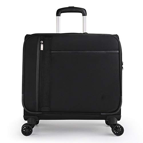 Great Deal! Dygzh Suitcase 18 Inches Durable and Lightweight Luggage with A Lock That Can Accommodat...