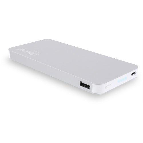 InLine USB PowerBank Zusatzakku (10000mAh) Silber