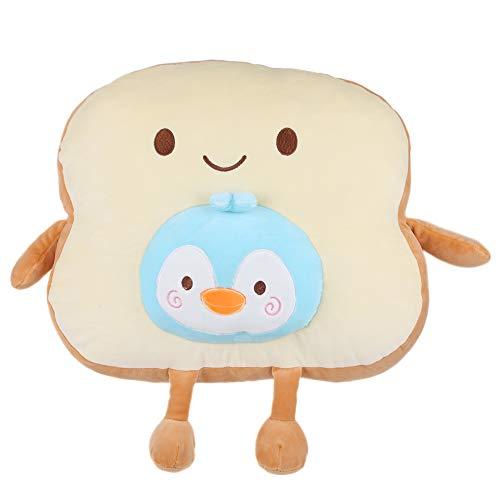 Poduszka do chleba, modna i ciekawa poduszka do krojonego chleba, pluszowa zabawka lalka odpowiednia do poduszek na sofę(Yellow)