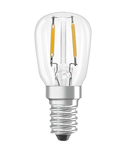 OSRAM LED Lampe Special T26 für Kühlschrank mit E14 Sockel, 2,20 W, Ersatz für 10W-Glühbirne, Warmweiß (2700K), 9er-Pack