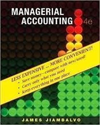 Managerial Accounting (Looseleaf) Binder Ready Version (Includes WileyPlus);Includes WileyPlus