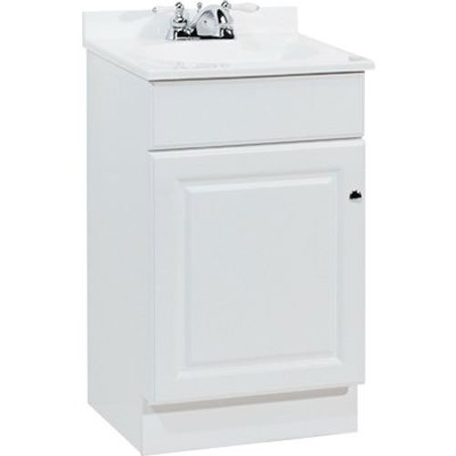 Rsi Home Products Sales Richmond 19' W X 17' D X 35-1/4'H Durable White Finish Vanity,