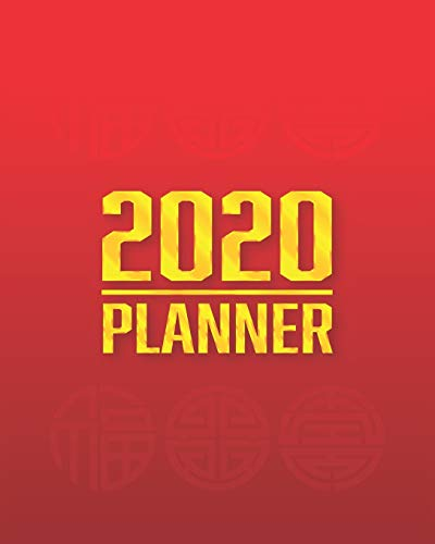 2020 Fu Lu Shou-The Three Lucky Gods Planner: 2020-2021 (1 Jan 2020 to 31 Dec 2020) Yearly,  Monthly, Weekly Planner / Calendar / Birthday List : Chinese Three Lucky Gods