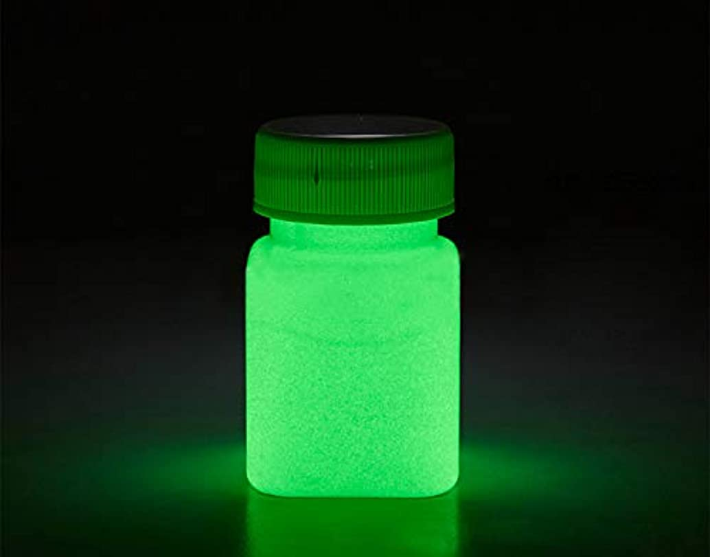 Glow in The Dark Paint Water Based Acrylic Materials -1 Ounce - 6 Colors (Green)