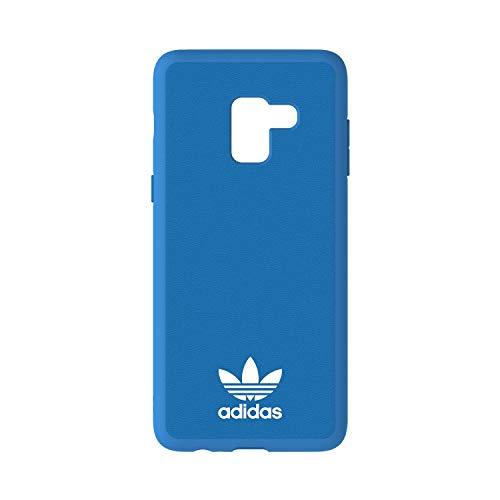 Adidas Originals - Custodia per cellulare compatibile con Samsung Galaxy A8+, colore: Blu/Blu