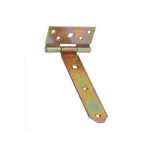 WOLFPACK LINEA PROFESIONAL 21013180 Soporte para Madera Bisagra Bicromatado 200 mm
