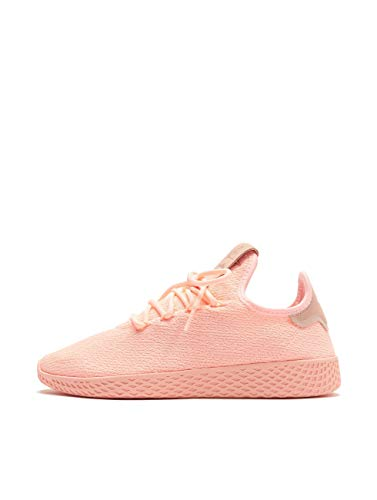 Adidas Mujer Pharrell Williams Tennis HU Zapatillas Rosa, 39 1/3