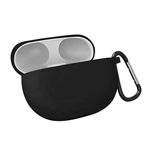 Cricia Compatible con Beats Studio Buds Cover Silicosin Funda Protectora Completa a Prueba de Golpes Funda Protectora para Auriculares inalámbricos con mosquetón