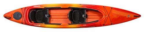 Wilderness Systems Pamlico 135   Sit Inside Recreational Kayak   Tandem Kayak   13' 6'   Mango