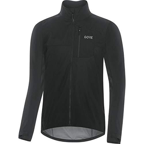 GORE WEAR Chaqueta de ciclismo Spirit para hombre, GORE-TEX INFINIUM, XL, Negro