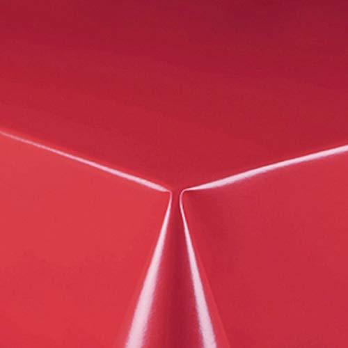 d-c-fix Partytischdecke Lackfolie 100 x 250 cm Farbe wählbar Rot abwaschbare Tischdecke