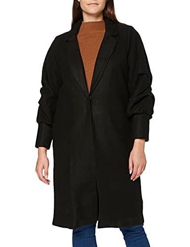 Wag-A-Tude Tags Vrouwen zwarte lange lijn jas blazer 12 (Pack van 4)