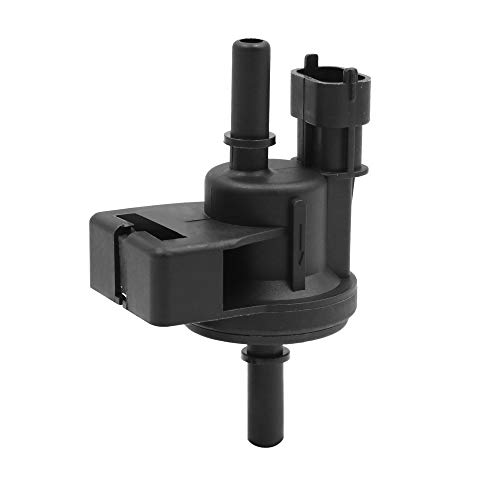 X AUTOHAUX DC 12V Purge Solenoid Valve Steam Tank Cleaning Control Valve for Cadillac 2006-2011