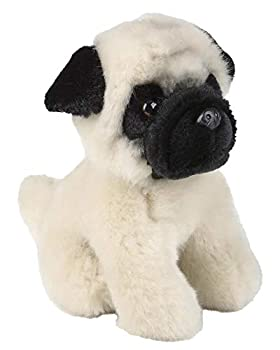 Edgewood Toys 6-inch Pug Stuffed Animal – Ultra Soft Stuffed Pug Plush – Mini Design Great for Little Hands to Carry – Great for Room Décor Or Gift for Any Pug Lover