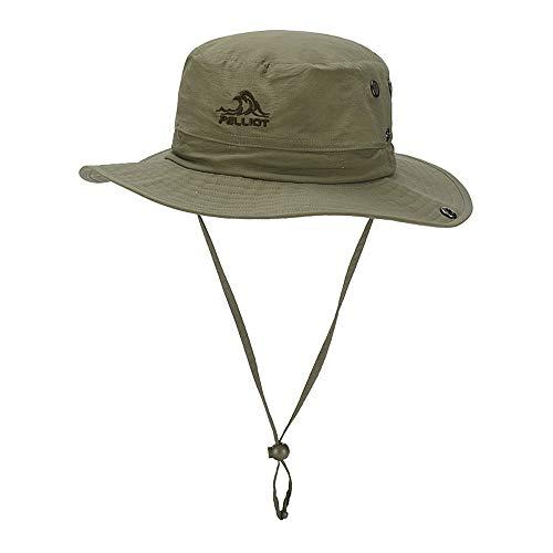 PELLIOT Sonnenhut Outdoor Herren Damen UVFischerhut Sonnenhut Im Freien Sun Hat Elegant Faltbar Breite Krempe Unisex Hut