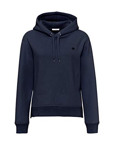 OPUS Damen Sweatshirt Gadira mit Kapuze bleu (50) 38