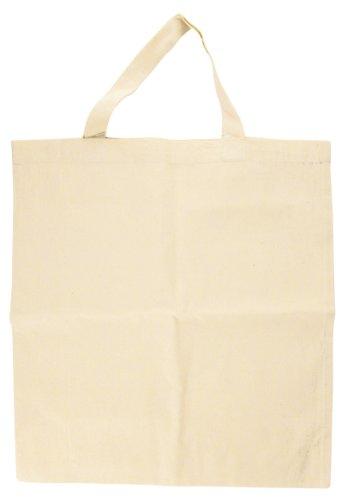 Rayher 3821000 Sac de coton, vierges, beige, 38 x 42 cm