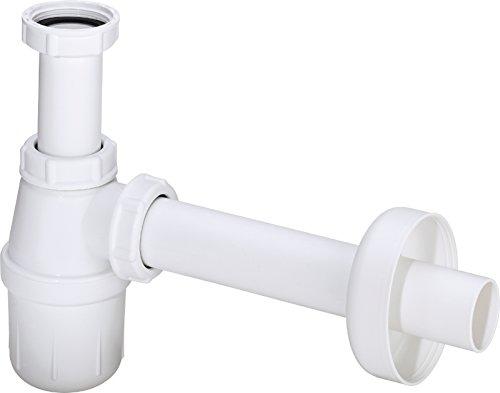 Viega 22562 5 Flaschengeruchsverschluss für Waschtische, Kunststoff, 1 1/4 Zoll, Weiß-Modell 2