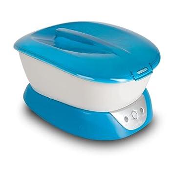 HoMedics ParaSpa Paraffin Wax Bath   Wax Warmer   Bonus 3 lb Paraffin Wax & 20 Hand Liners   Soothing Hand & Foot Spa   Moisturizing System   Hypoallergenic Blue