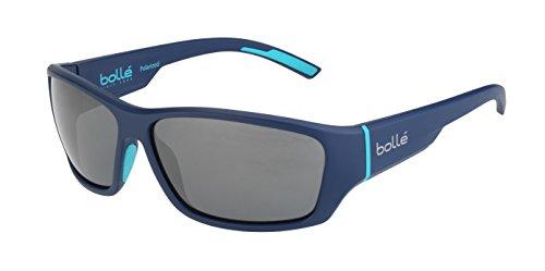 bollé Erwachsene Ibex Sonnenbrille, Navy Petrol Matte, Large
