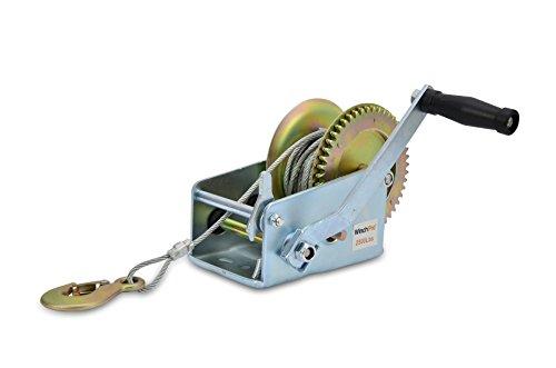 WinchPro - Cabrestante Manual 1100kg/2500lbs, Cabrestante Ma