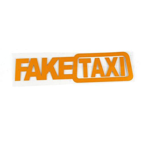 Jessicadaphne Gefälschte Taxi Drift Sign Lustige Autoaufkleber Gefälschte Taxi Auto Aufkleber