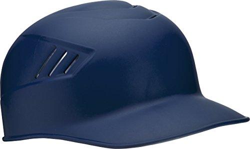 Rawlings Coolflo Matte Style Alpha Sized Base Coach Helmet, Navy, Medium