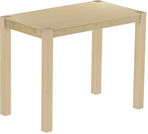 Brasilmöbel Hochtisch Rio Kanto 140x80 cm Birke Bartisch Holz Tisch Pinie Massivholz Stehtisch Bistrotisch Tresen Bar Thekentisch Echtholz Größe und Farbe wählbar