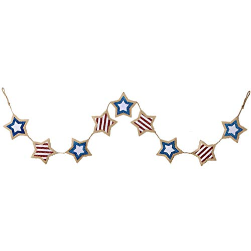 DII 4th of July Home Décor Celebrate The Spring & Summer Season, Garland