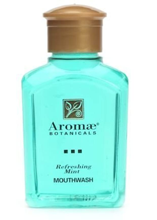 静める信念割り当てAromae Fresh Mint Mouthwash, 1.0 Fluid Ounce Bottles, 160 Bottles per Case by Aromae