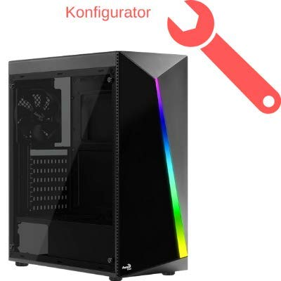 Gaming PC Komplett-Konfigurator AMD Ryzen 3000-Serie, 8GB bis 32GB RAM, Nvidia oder AMD Radeon Grafikkarte, bis 1TB SSD, bis 6TB HDD, Windows 10 Home oder Pro, optional mit WLAN, Bluetooth